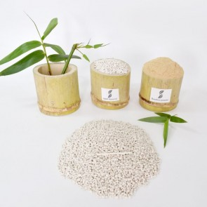 Compostable bamboo material fully biodegradable toothbrush