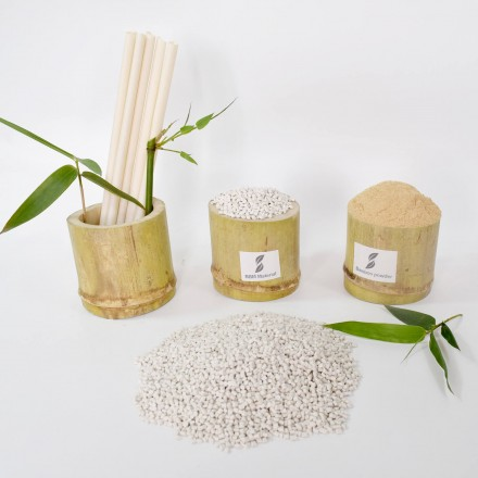 Disposable bamboo Biodegradable material for straws